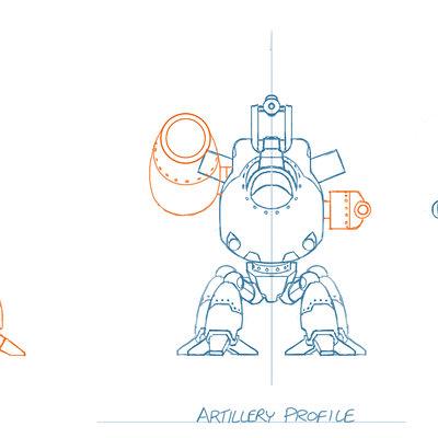 Lloyd chidgzey artillery profile2b