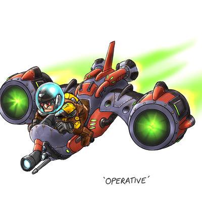 Lloyd chidgzey operative colour a