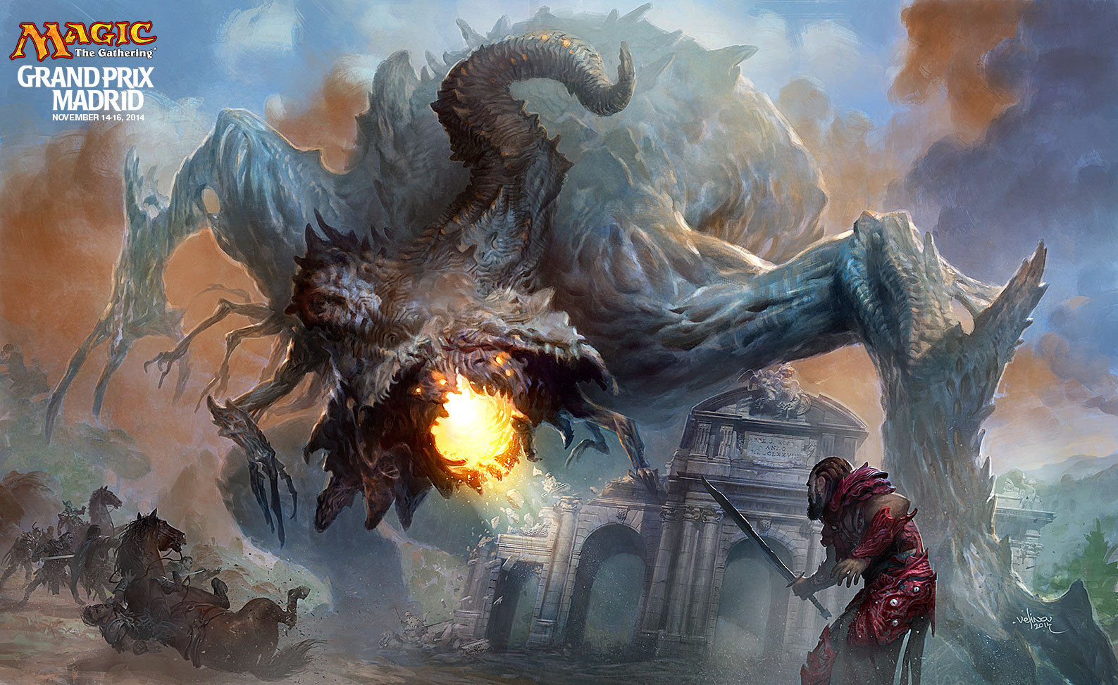 Svetlin velinov mtg gp madrid playmat 2014