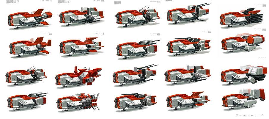 Ben mauro cargo tails 01 bm 905