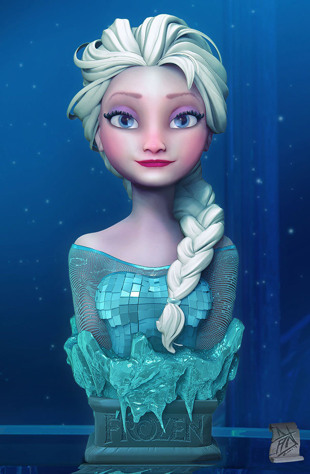 Frozen Fan Art