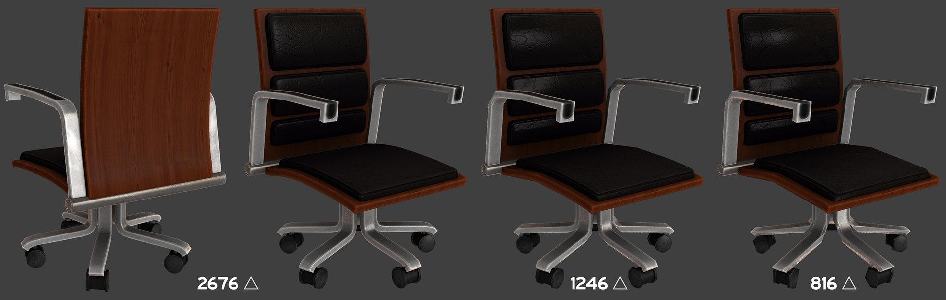 Ben bickle chair lods
