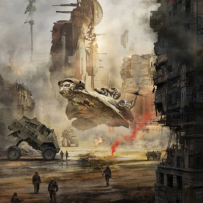 Richard tilbury sci fi war