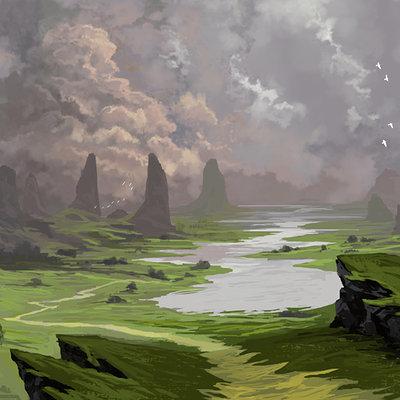Alfven ato landscape