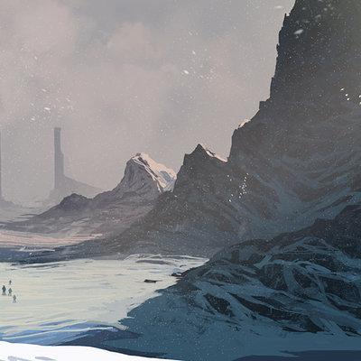 Alfven ato snowy pass