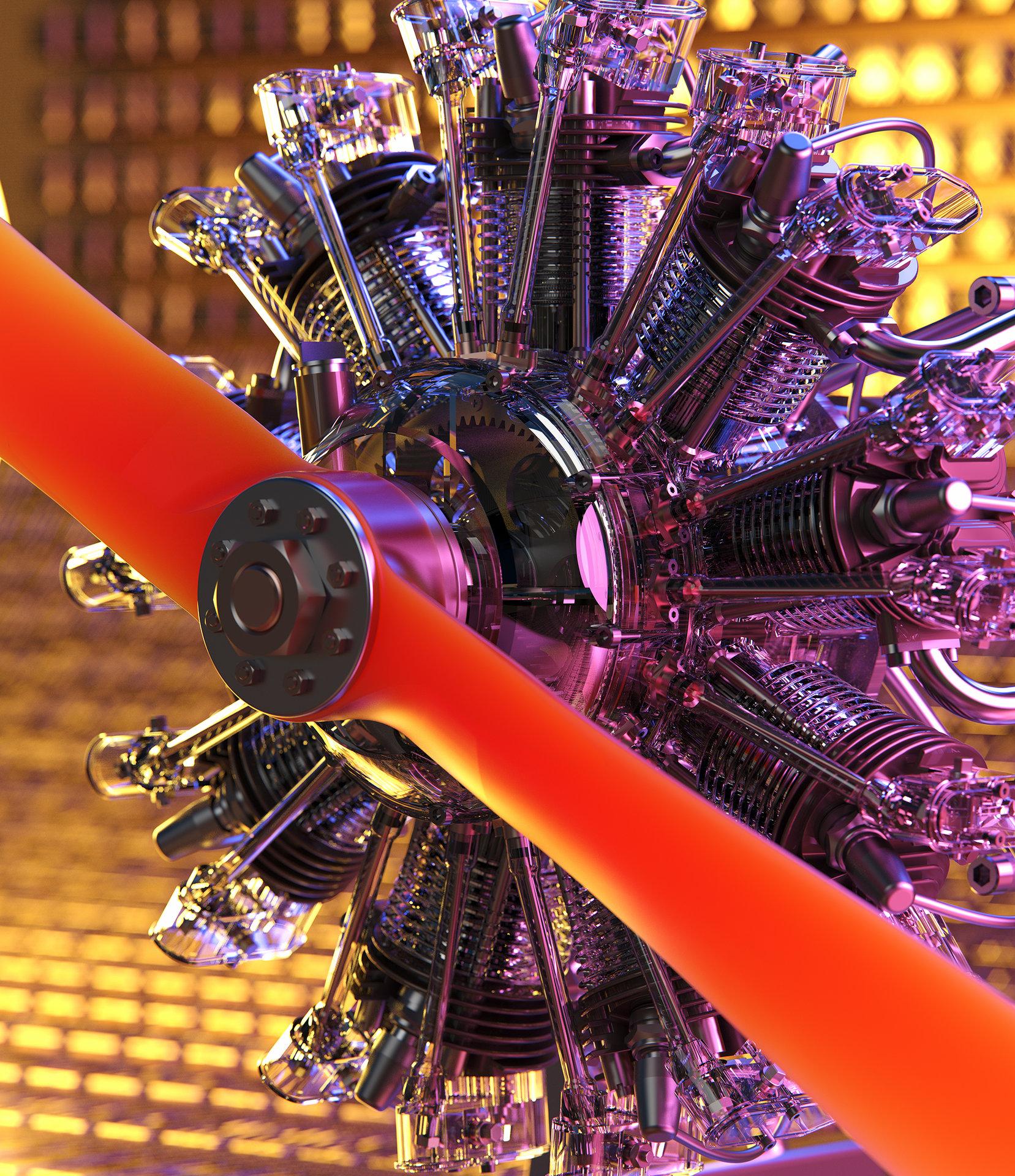 Nine Cylinder Power