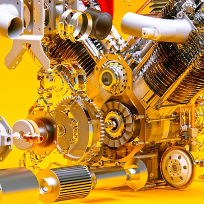 Michael marcondes engine v twin 08