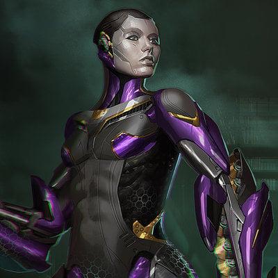 James daly cyborggirl 03