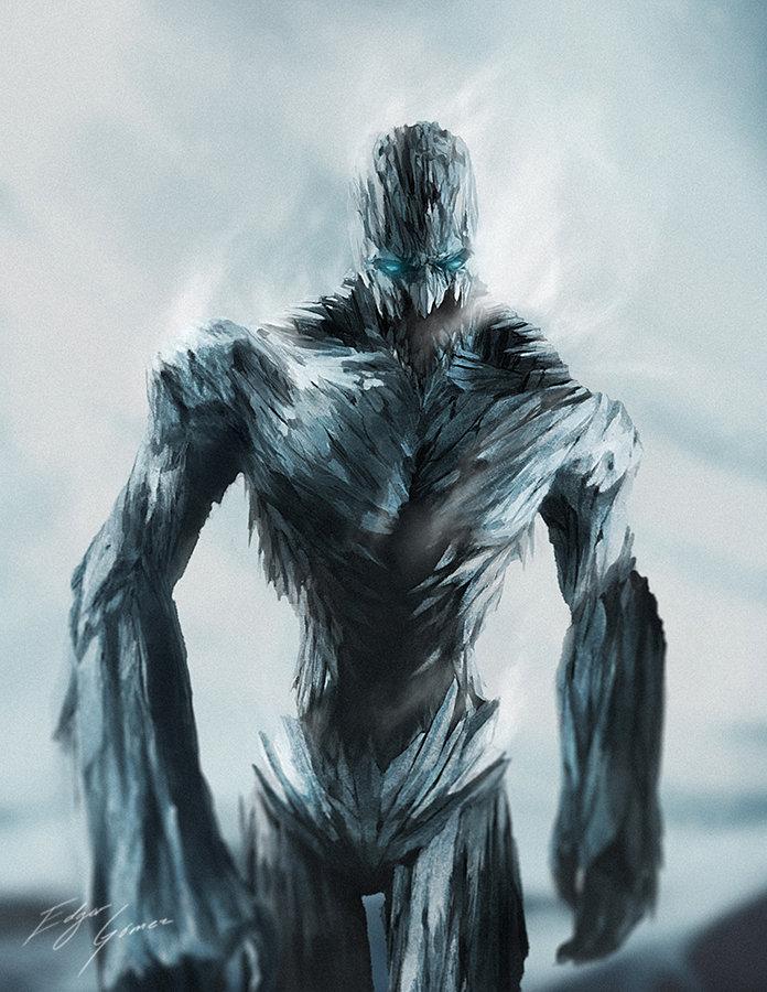 Edgar gomez iceman reimagined by van der dot d5mtm8i