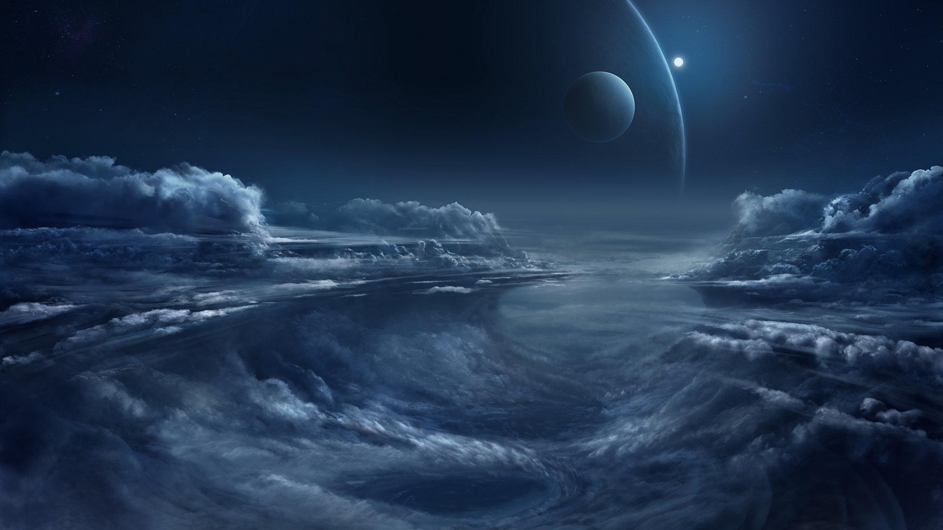 Chris goff mpc competition alien cloudscape matte
