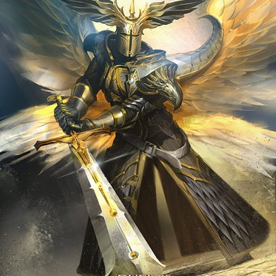 Mateusz ozminski angel commander ozminski