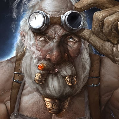 Michele frigo dwarf blacksmith
