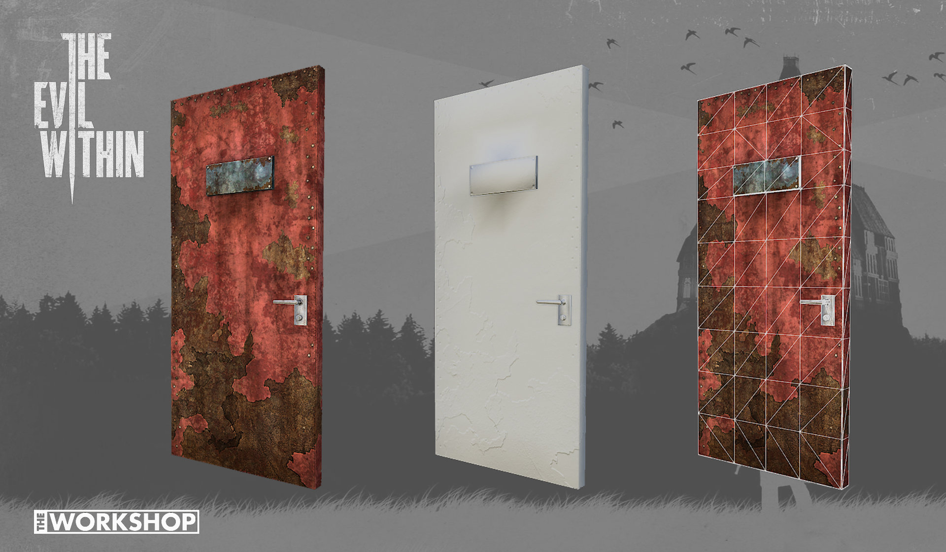 The Door Within The Evil Within & ArtStation - The Door Within The Evil Within Charleen Au
