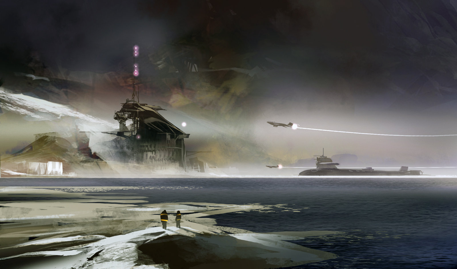 Sparth nicolas bouvier returning to the base 2006