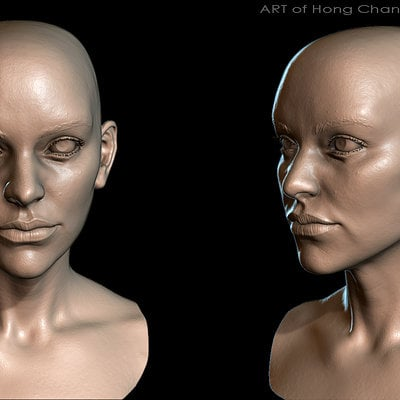 Hong chan lim sculpt render