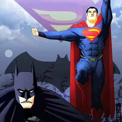 Ben herrera superman batman 01