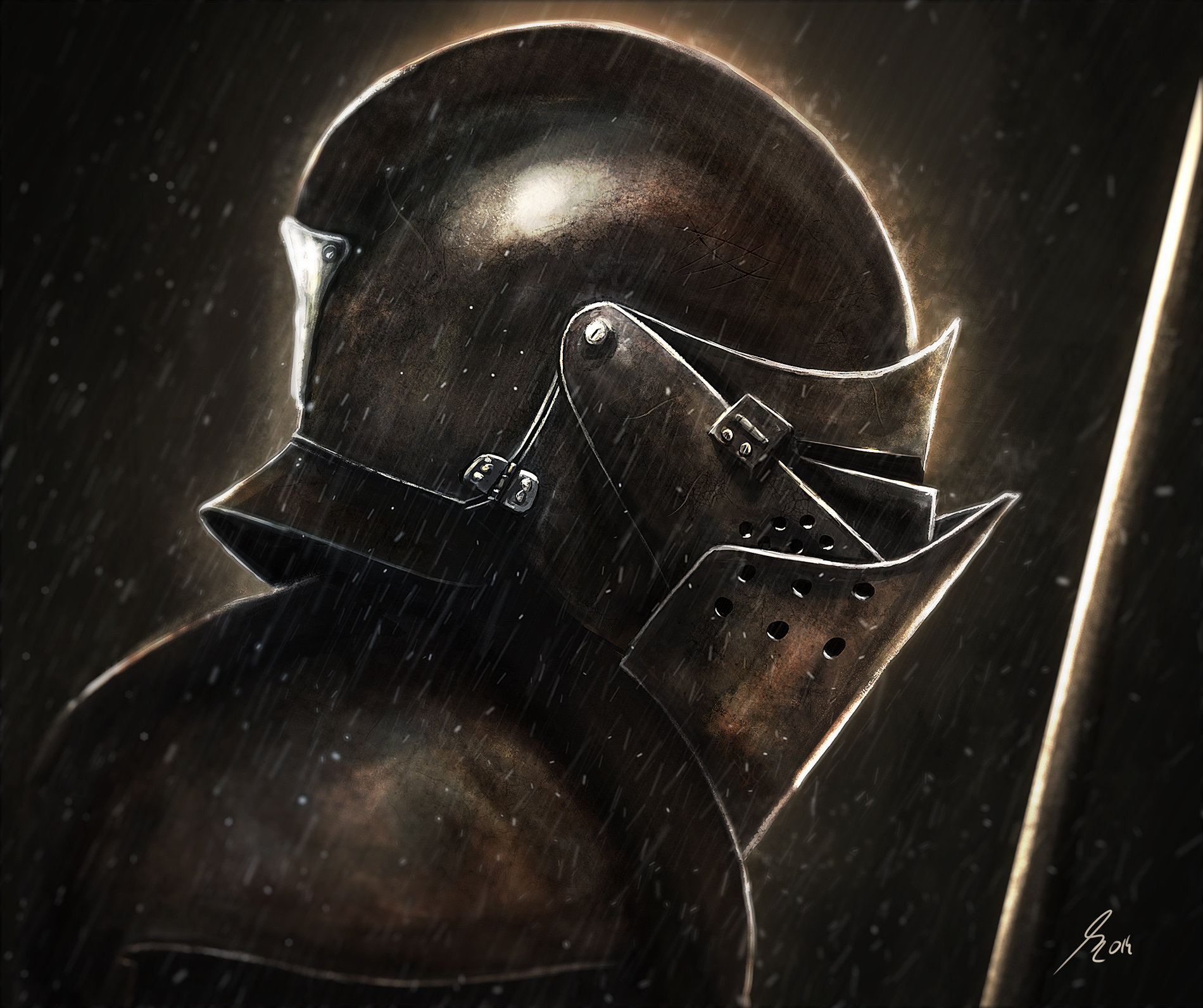 Raistlin majere knight final render
