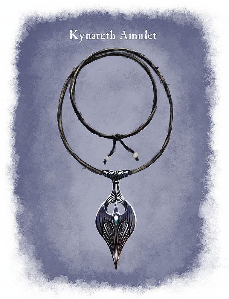 Ray lederer amulet kynareth web