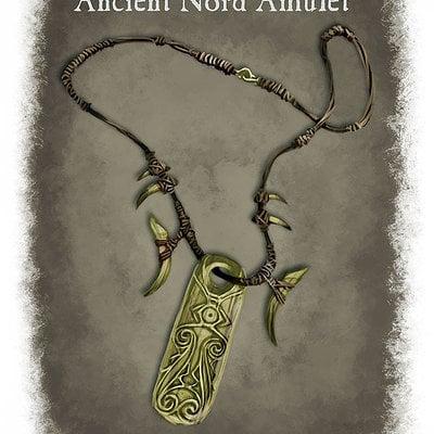 Ray lederer ancient nord amulet web