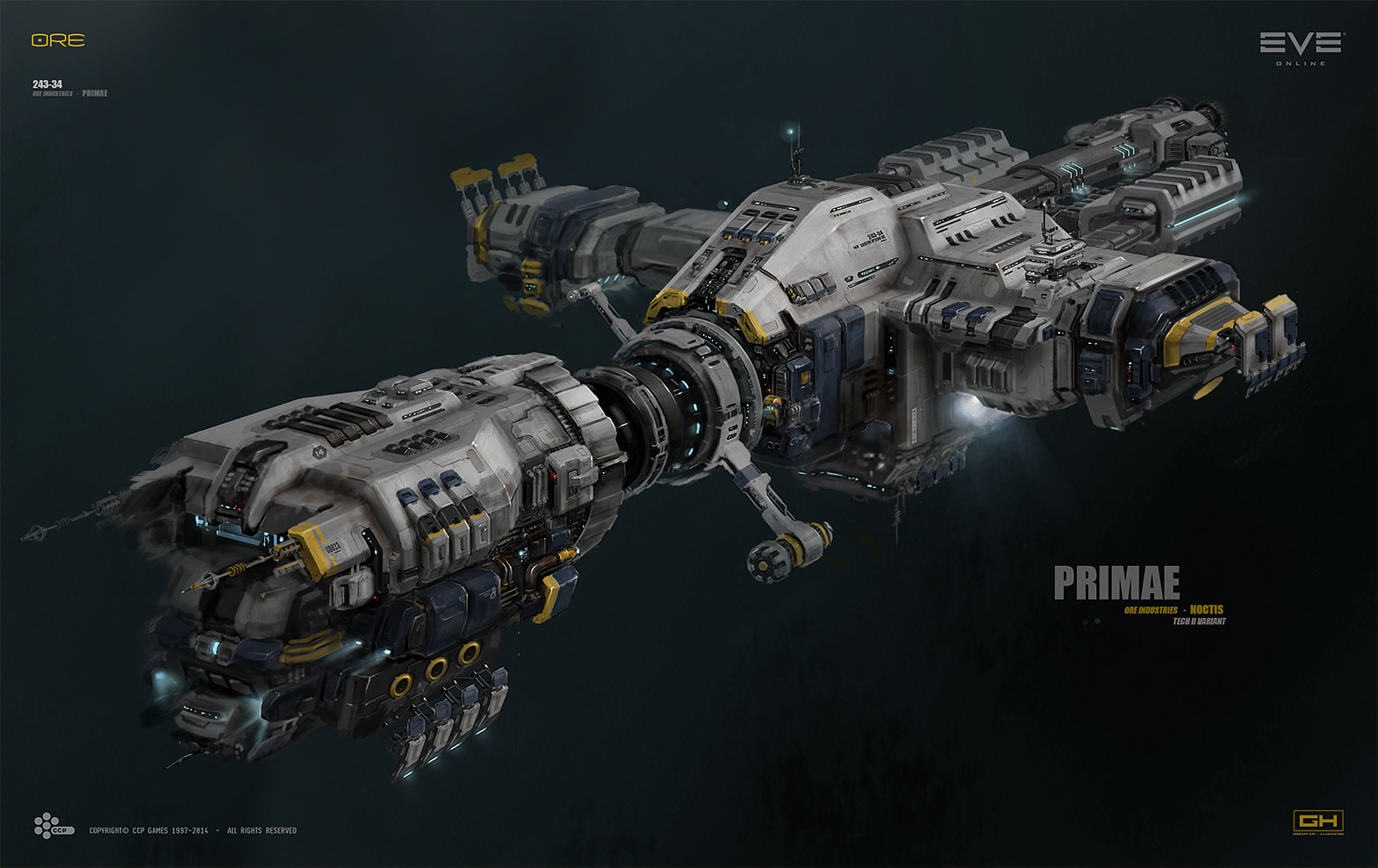 Approved] Gentes Bulk Freighter - Approved Starships - Star