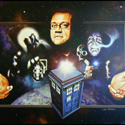 Russell t davies official painting