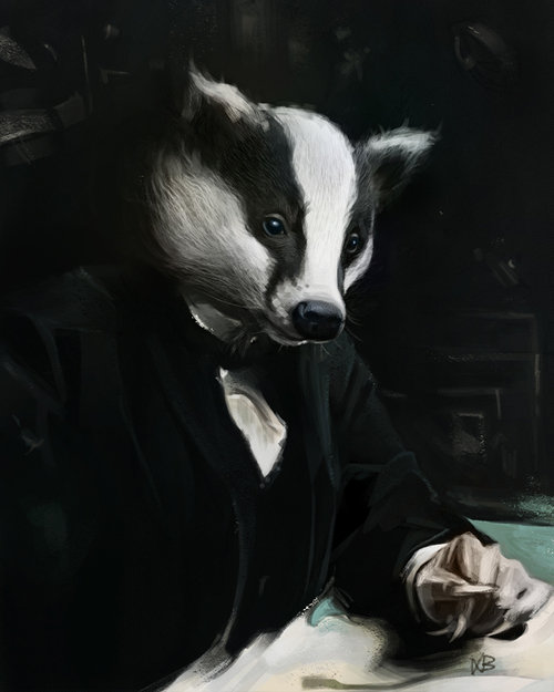 Fancy badger texture laurab 16.01.24