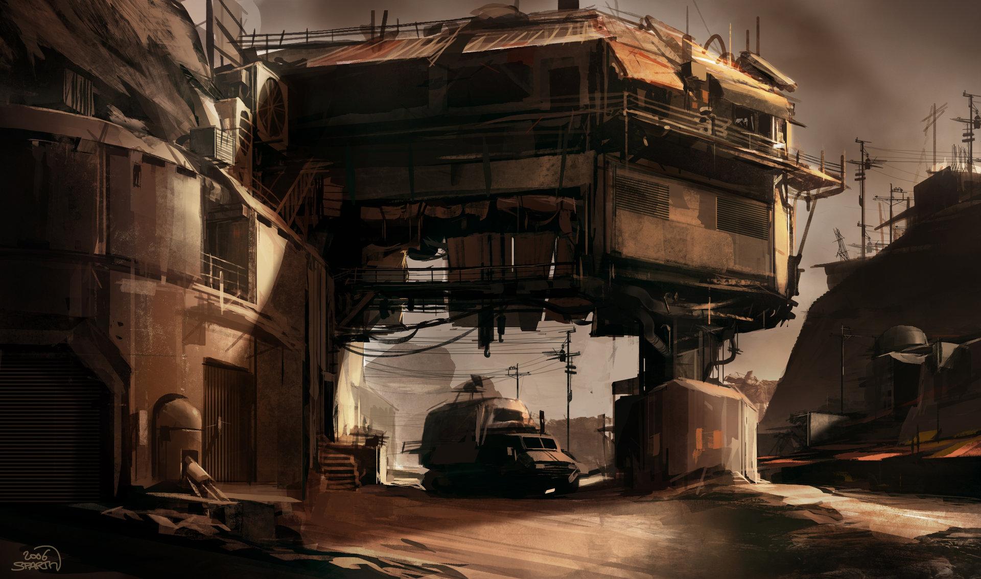 Sparth   rage   bridge bunker structure