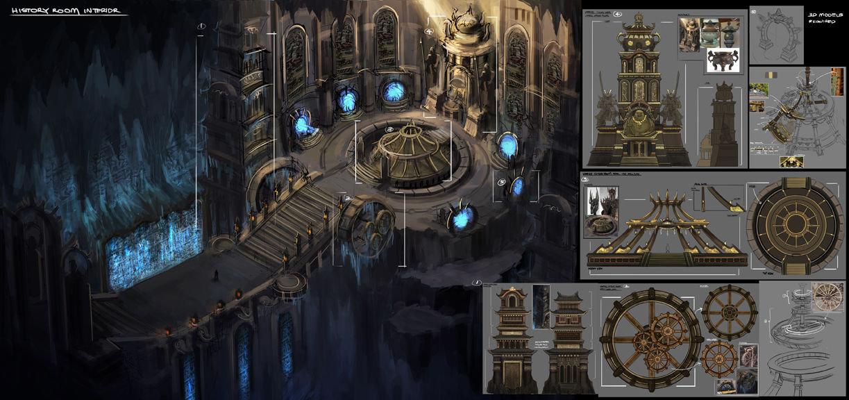 Artstation Mystical History Room Hang Kwong Hkxdesign