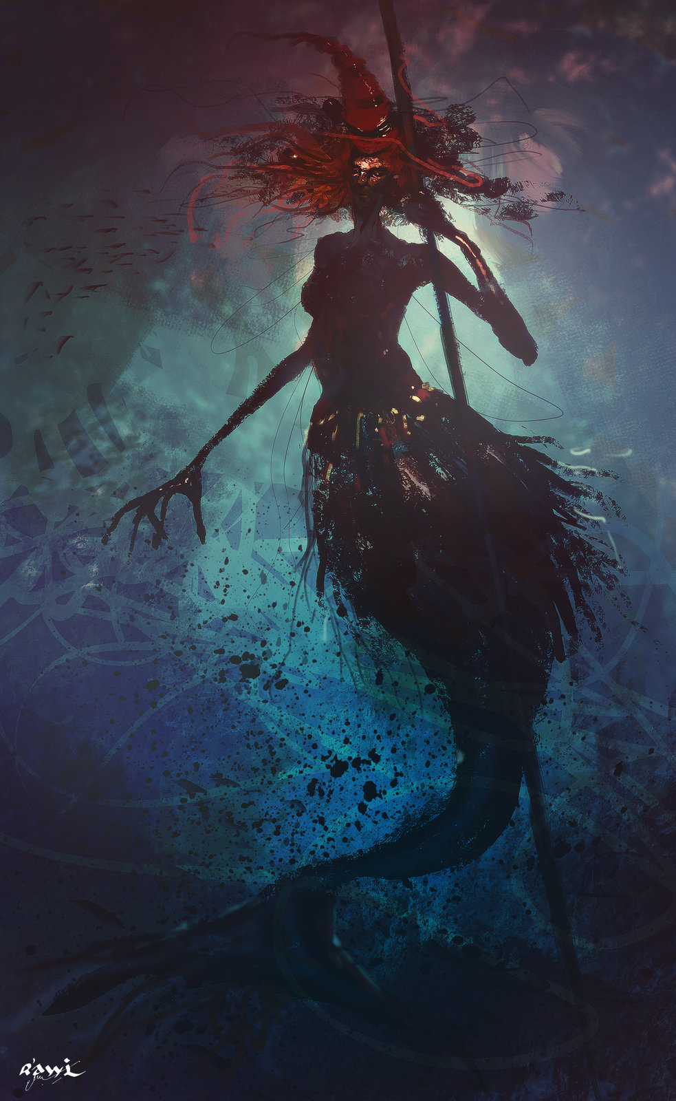 Underwater Witch