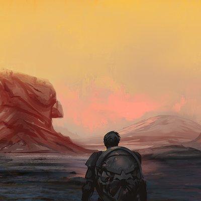 Nebulous desert