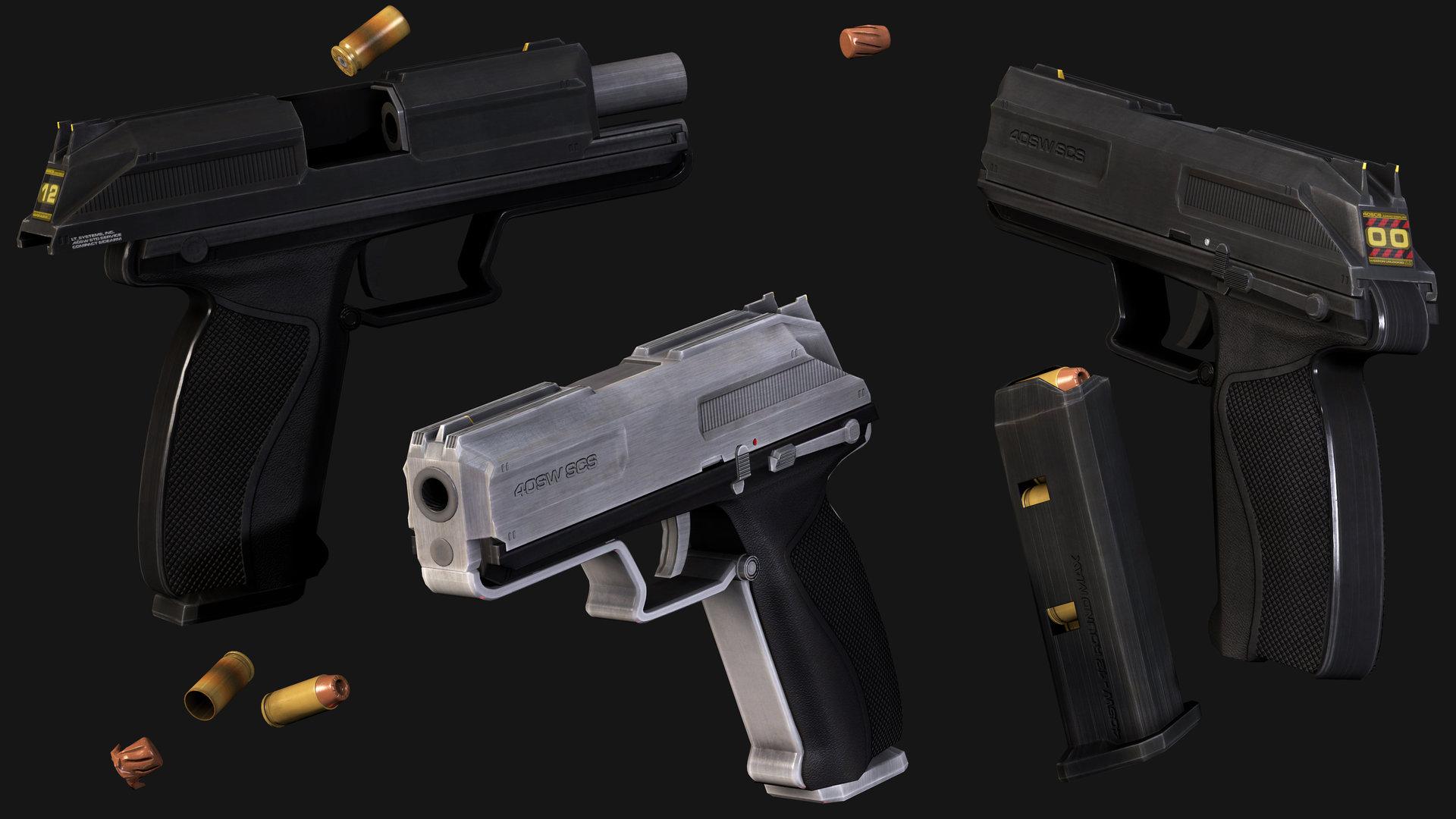40sw pistol a