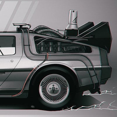 Bttf delorean blast blog
