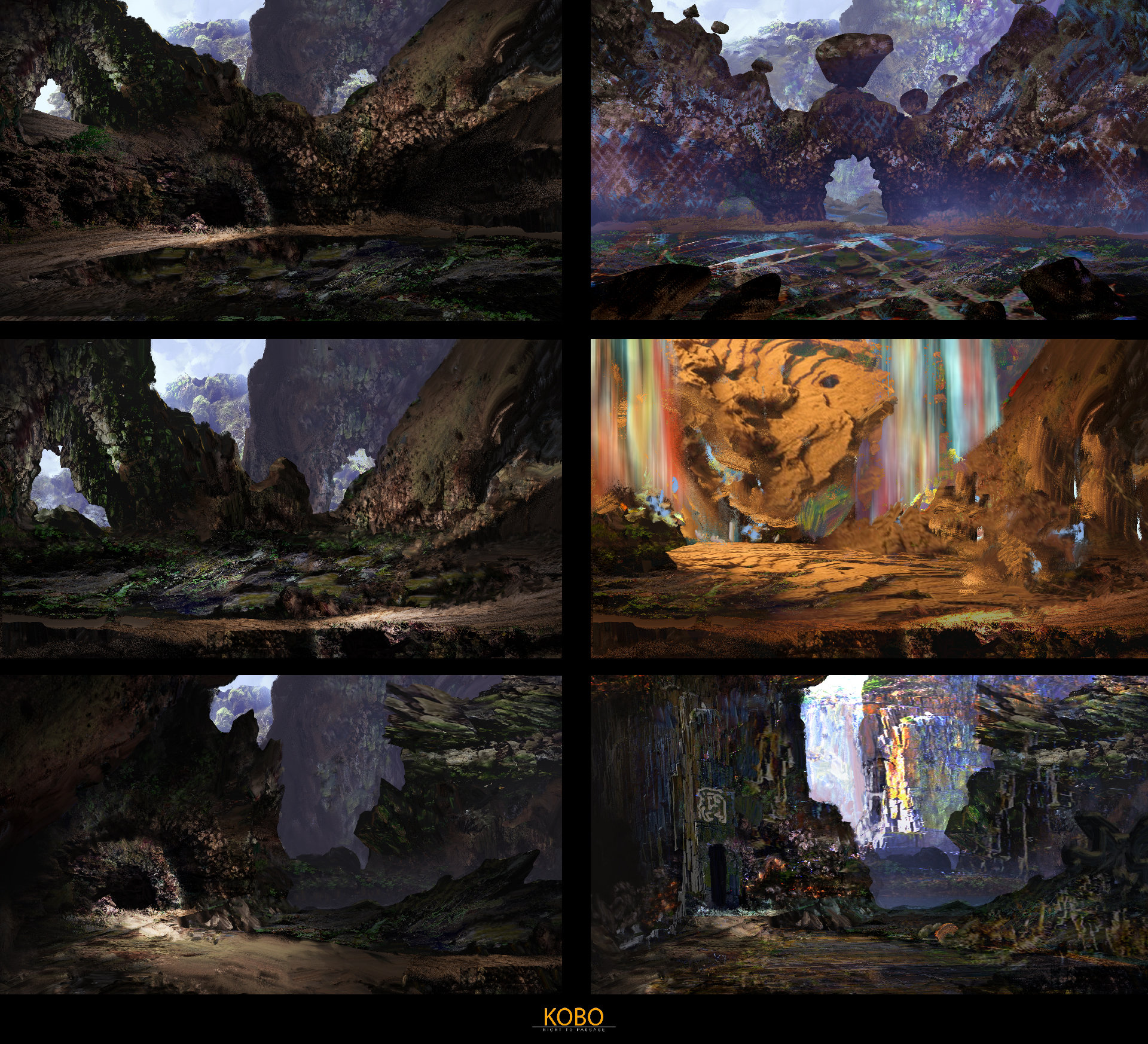 Kobo rock environment exploration 01