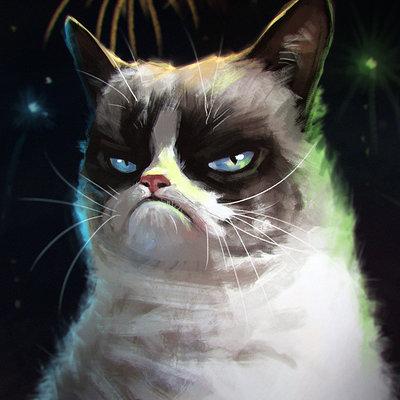 Grumpy cat laurab