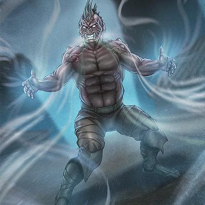 Wind monster warrior