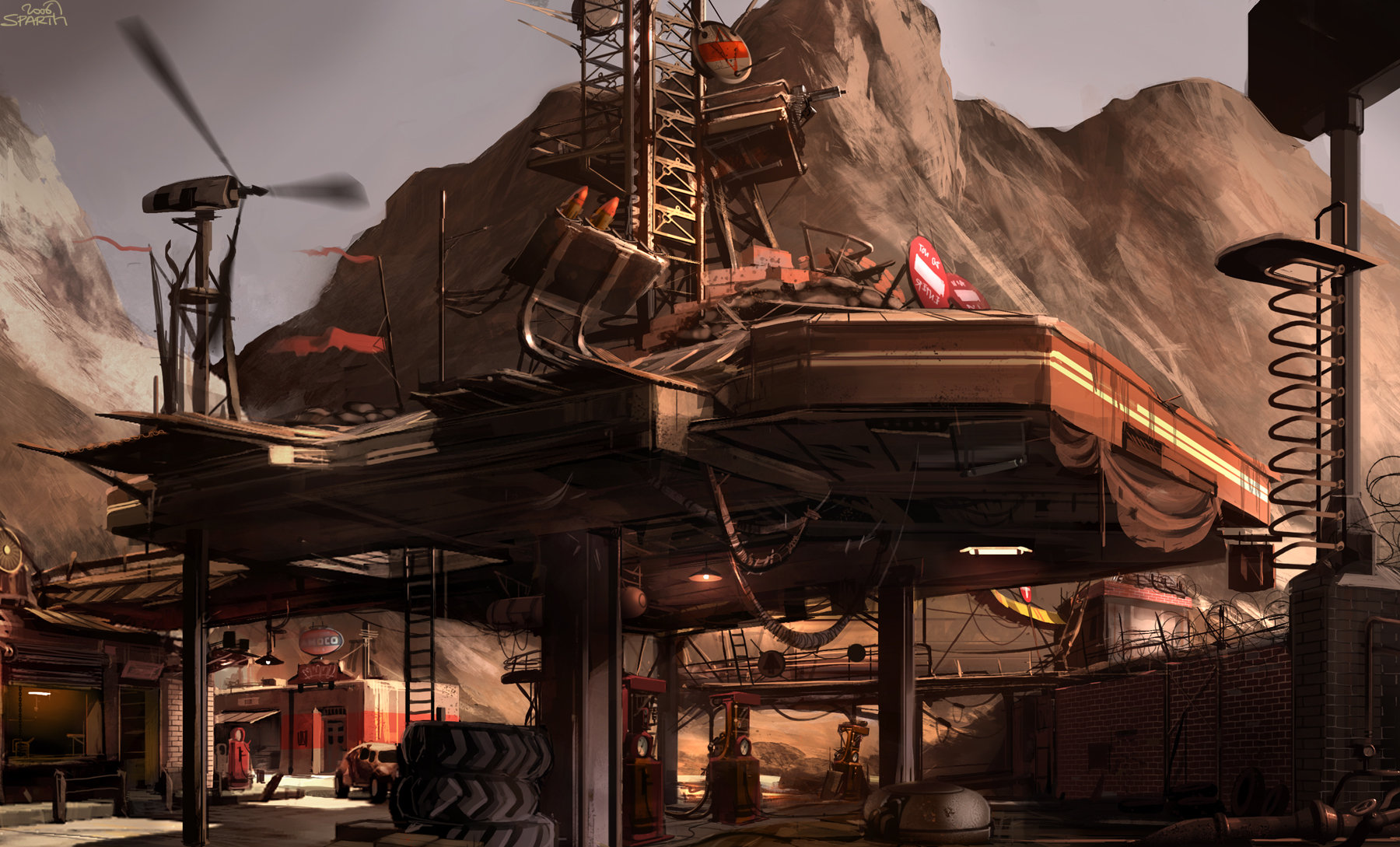 Sparth rage haggrid   roof view 3006