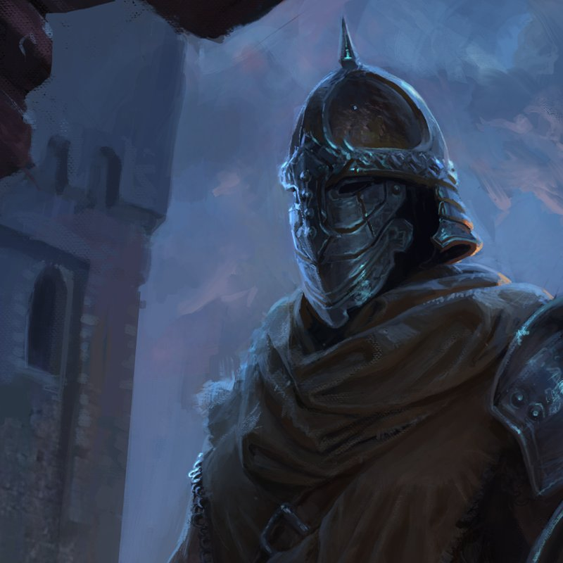 ArtStation - Skyrim - Whiterun Guard, Michal Kus