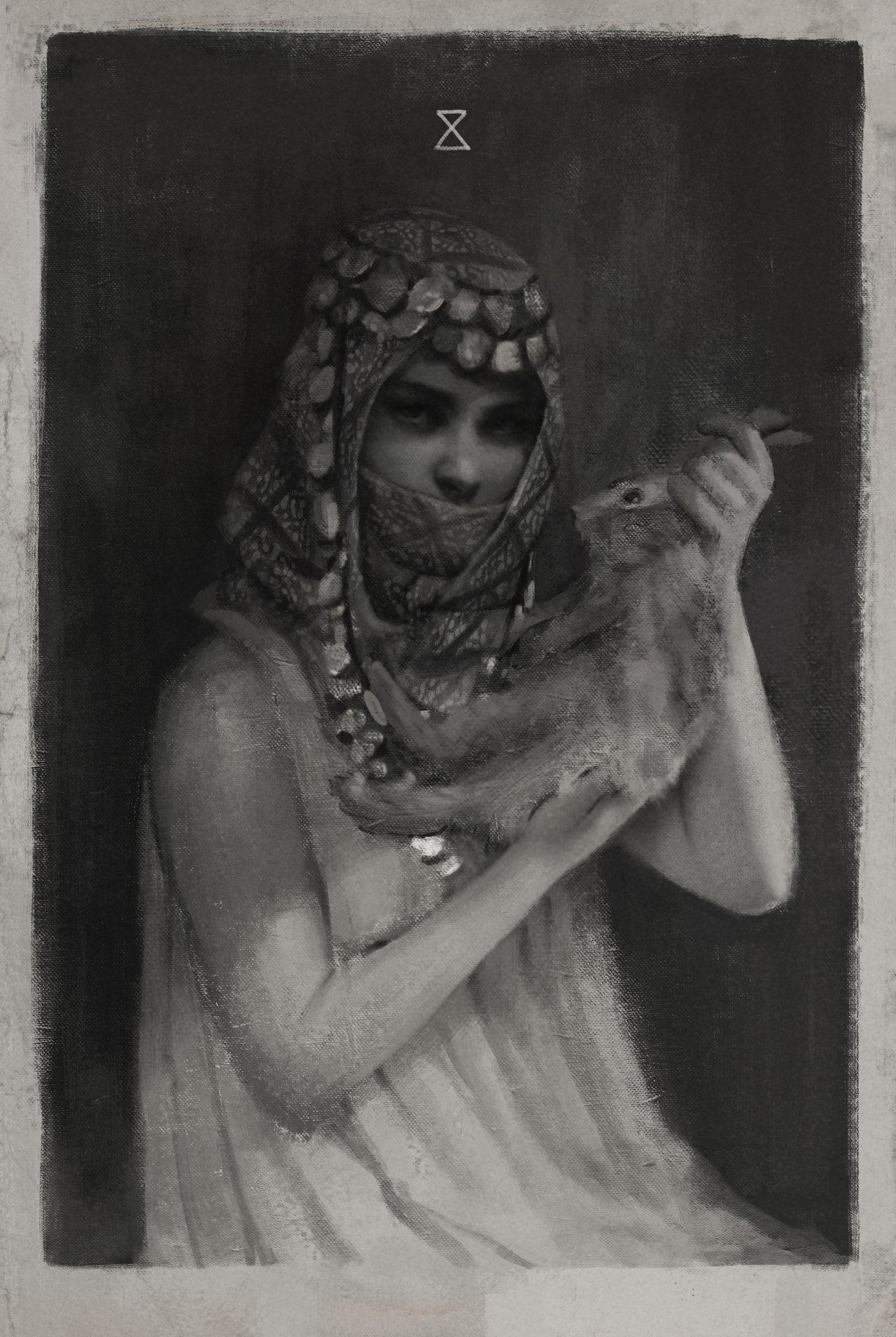 Portrait study 08