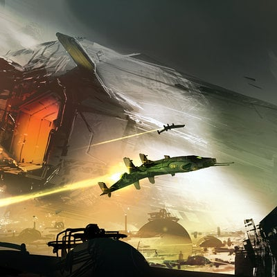 Halo4 preproduction piece sparth