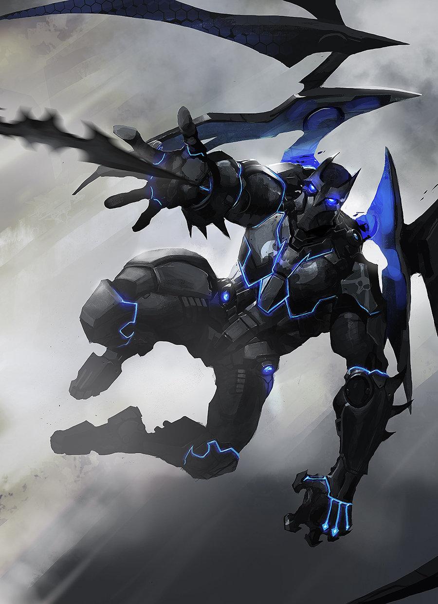 ArtStation - Batman mecha suit, Sébastien Brunet