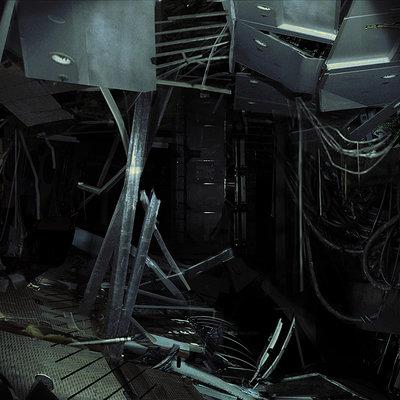 Karakter kz4 destroyed hallway01