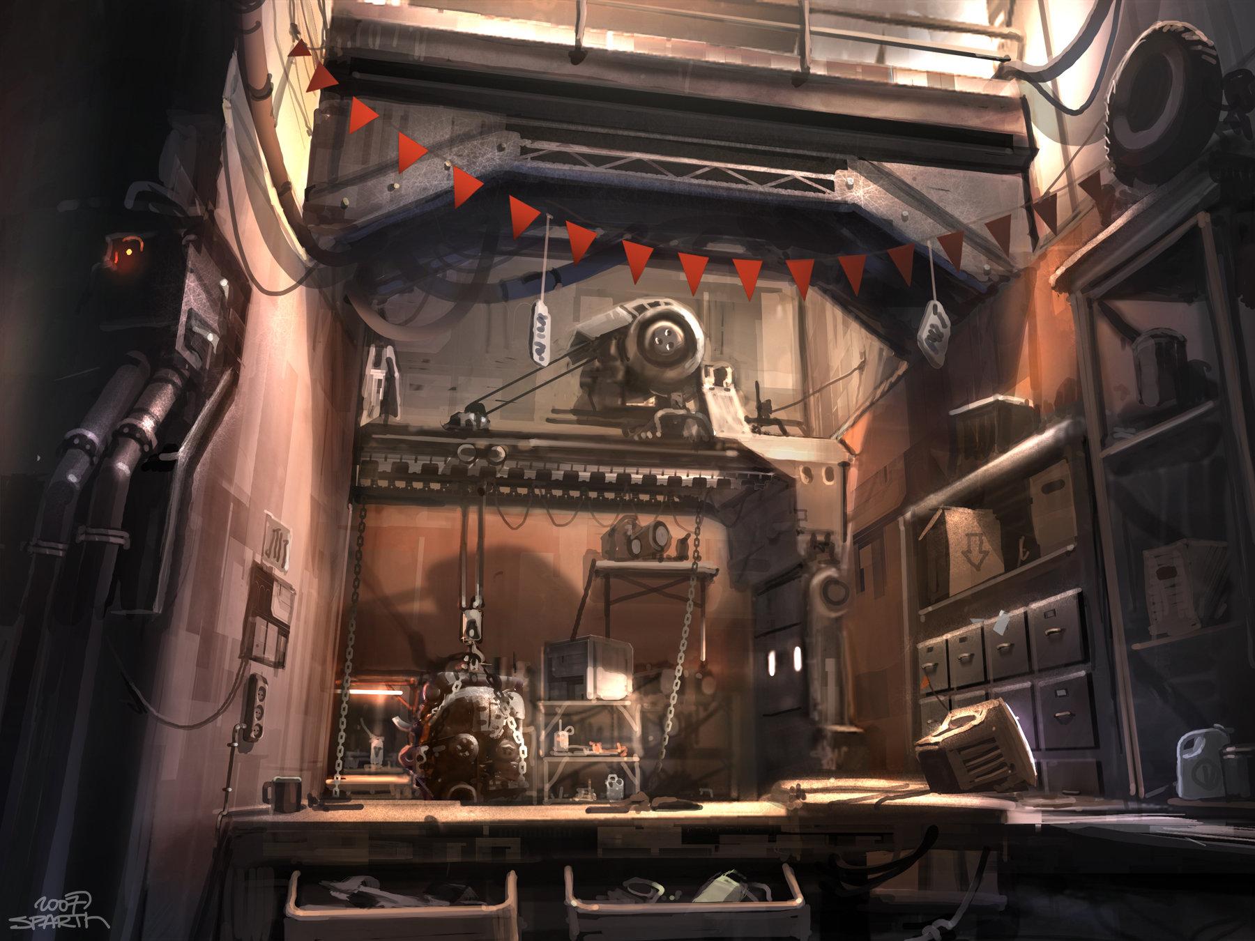 Sparth rage   mick's garage   concept 02   2007