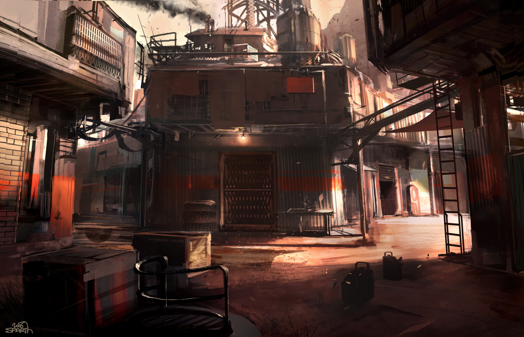 Rage   sparth  idsoftware   wellsprings streets 2
