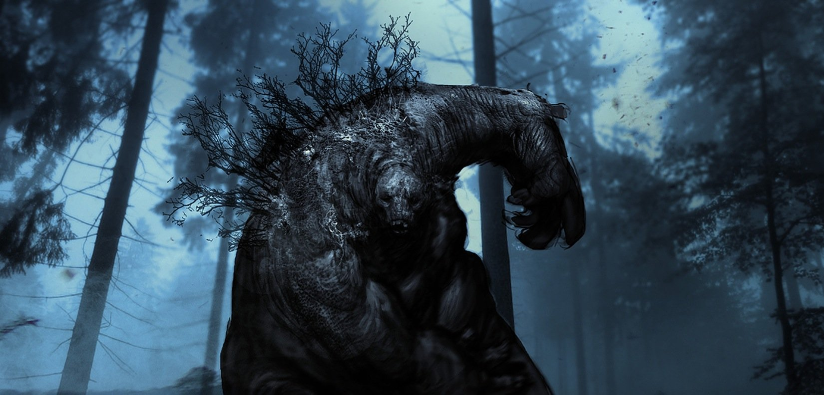 "early concept of Troll, done for ""snow white and the huntsman"""