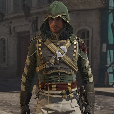 Assassin's Creed Unity, Avatar Napoleonic outfit one.