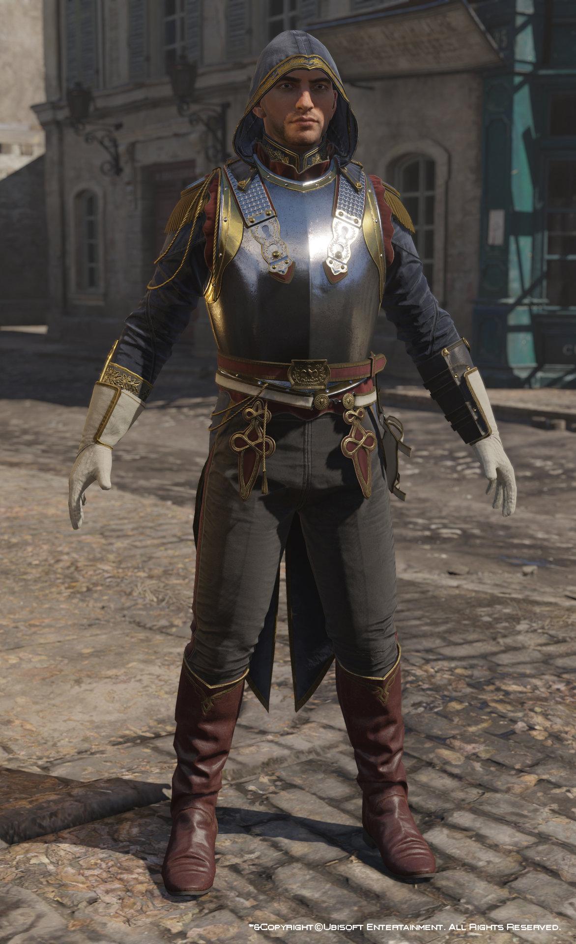 Artstation Assassin S Creed Unity Avatar Napoleonic Outfit Four