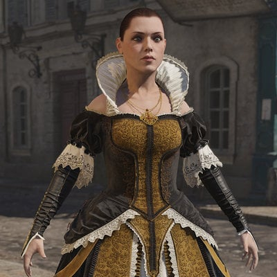 Assassin's Creed Unity, Elise's Evening Dress