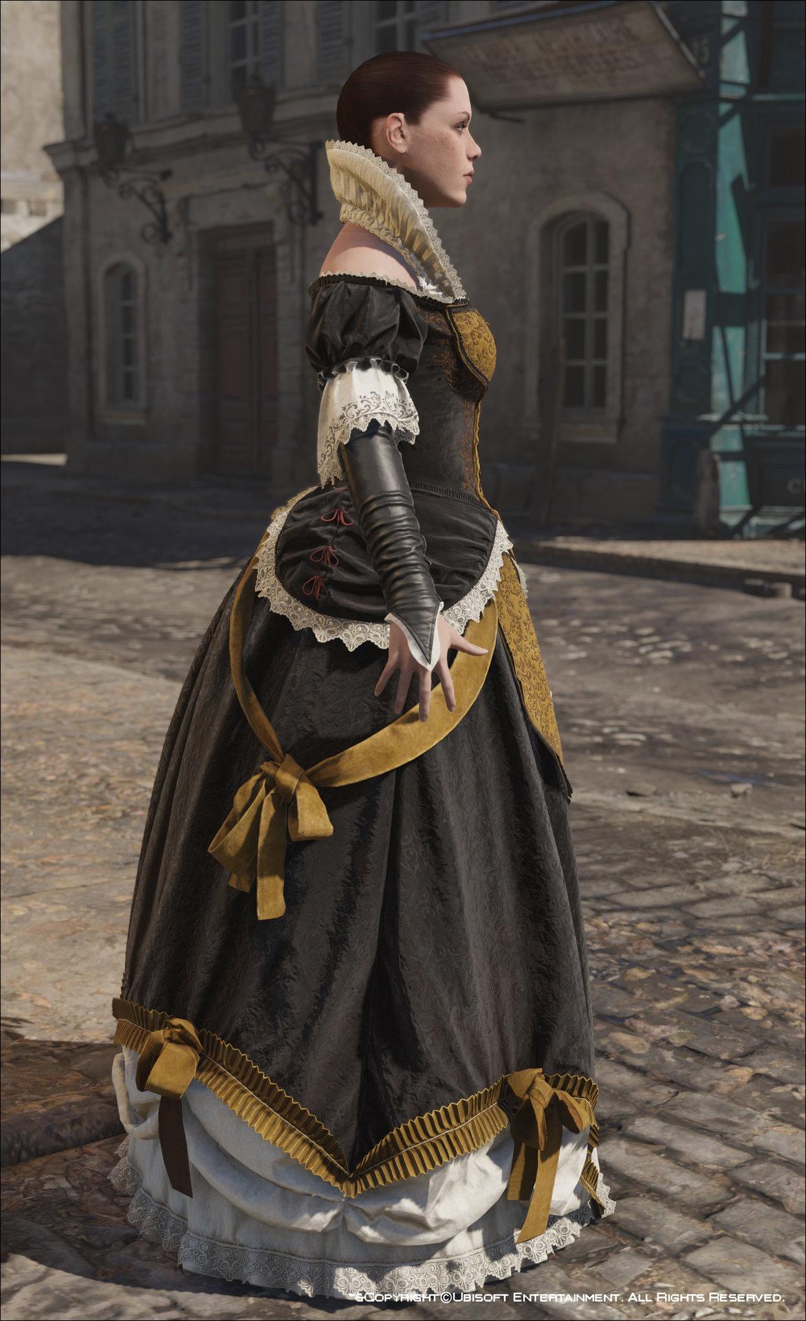 Artstation Assassin S Creed Unity Elise S Evening Dress