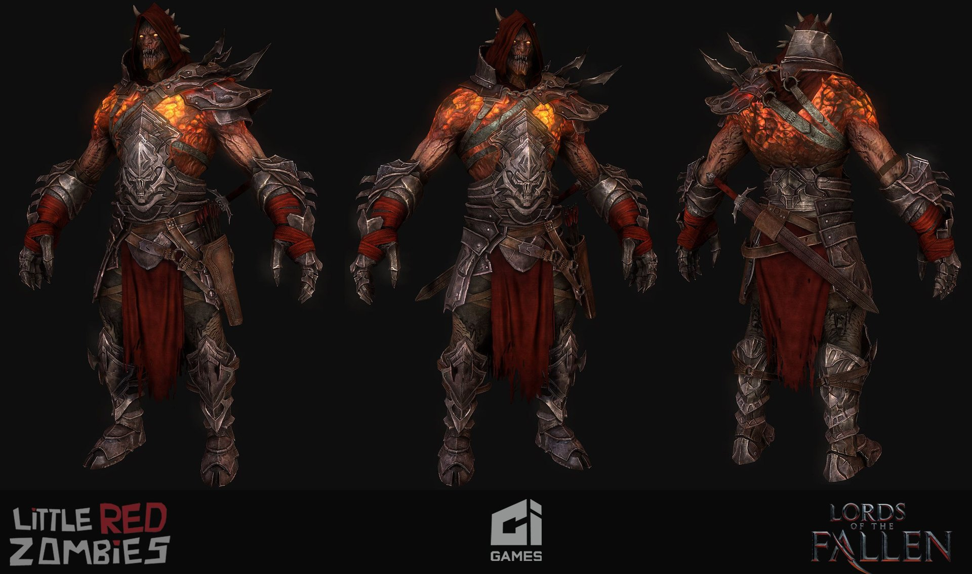 Rhogar(Responsible for Highpoly and Texturing)