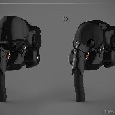 Thomas wievegg helmet 3d presentation